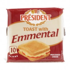 Phô mai Toast with Emmental President 200g