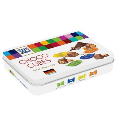 Hộp Quà Socola Ritter Sport Chocolate Cubes Selection 192G